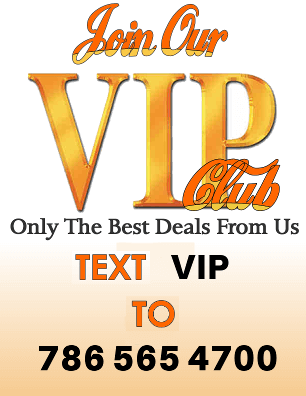 Text VIP to 786 565 4700